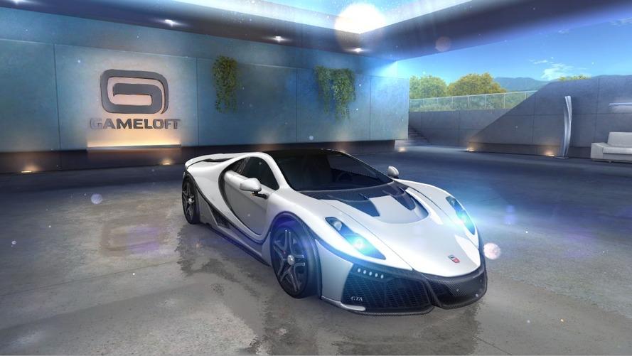 Yeni GTA Spano Asphalt 8: Airborne