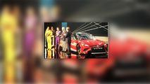 İnternete sızan Toyota Camry NASCAR görüntüsü