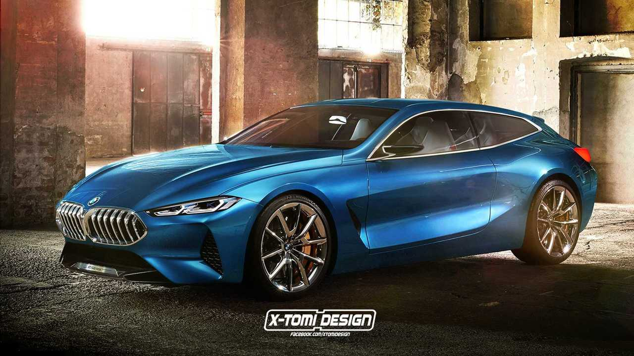BMW 8 Series Shooting Brake render