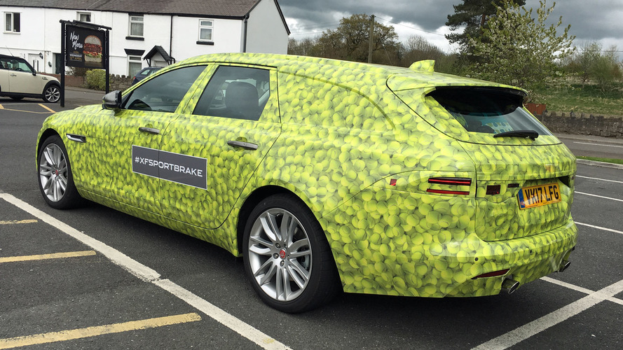 2018 Jaguar XF Sportbrake Spotted On UK Roads