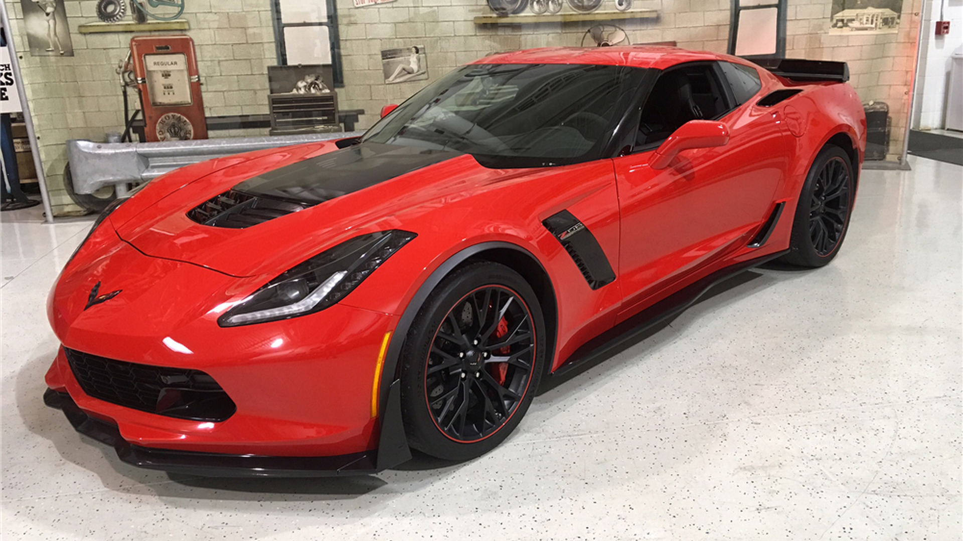 6 rare corvettes heading to auction including the first c7 z06. Black Bedroom Furniture Sets. Home Design Ideas
