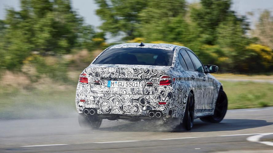 Timo Glock, a los mandos del espectacular BMW M5 2017