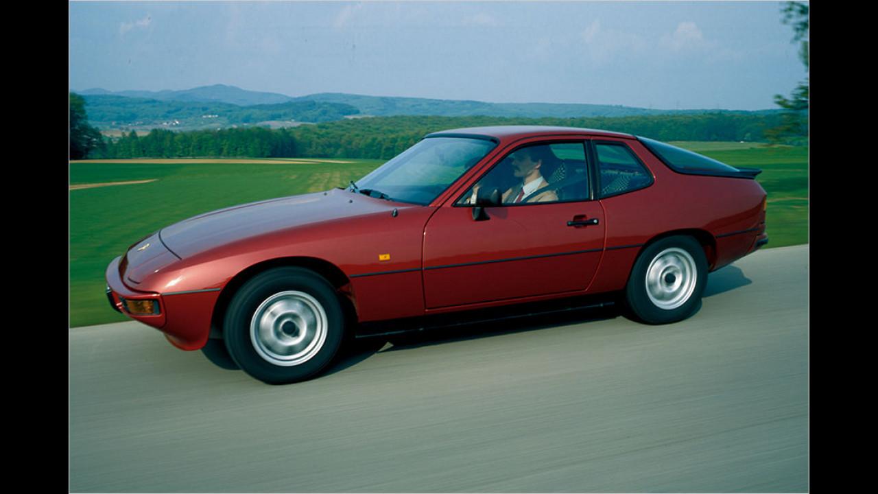 Platz sieben seit 1999: Porsche 924 Coupé