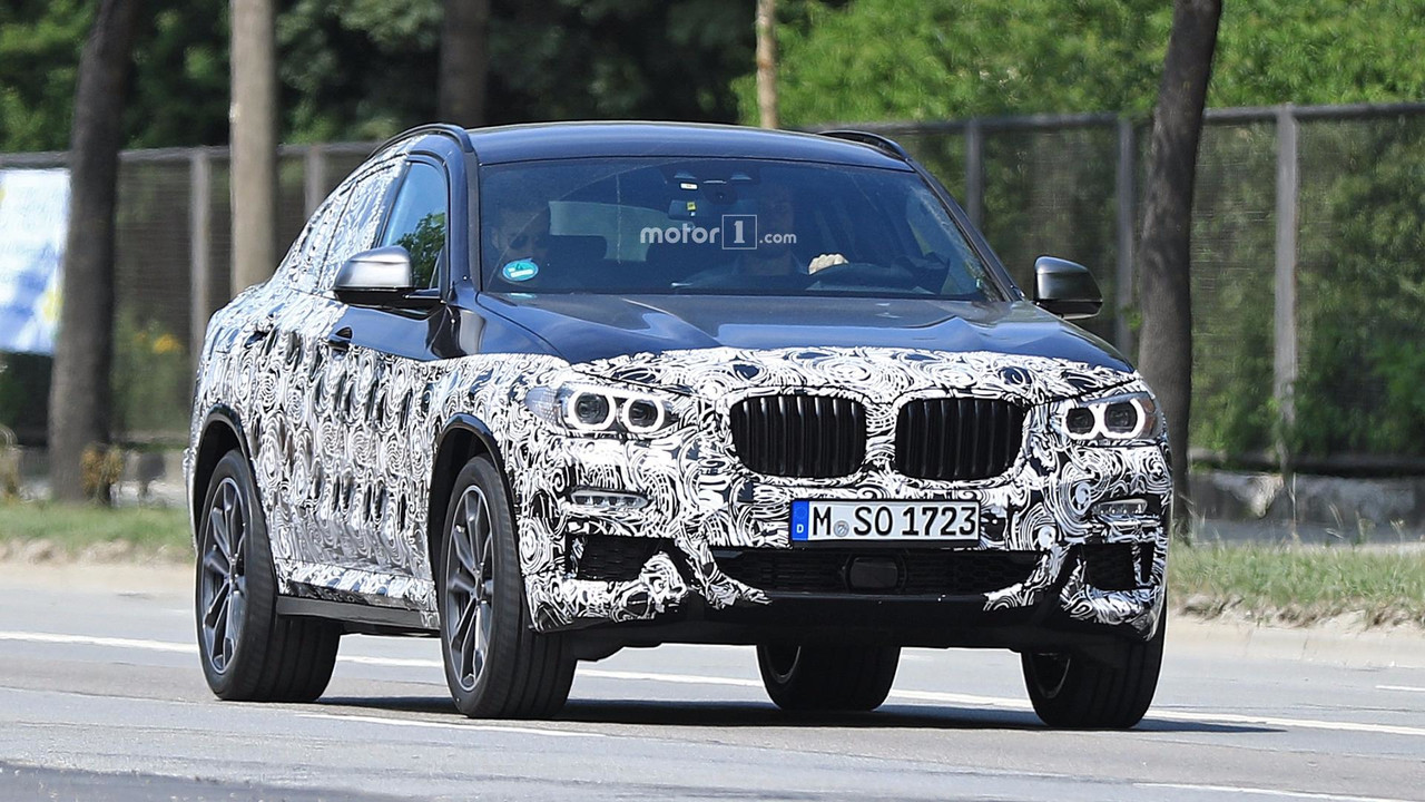 BMW X4 2019 fotos espia