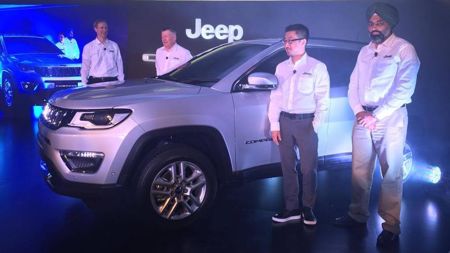 Jeep Compass recebe 1.000 encomendas em uma semana na Índia