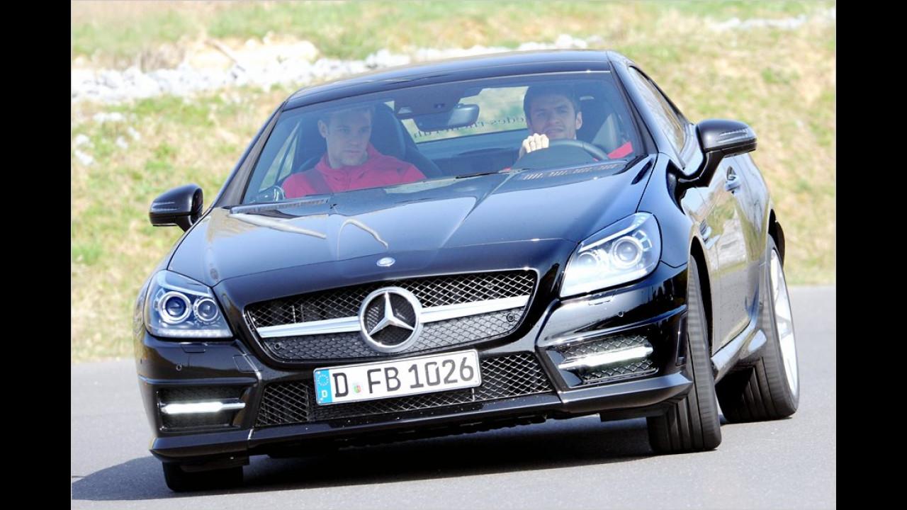 Thomas Müller und Manuel Neuer