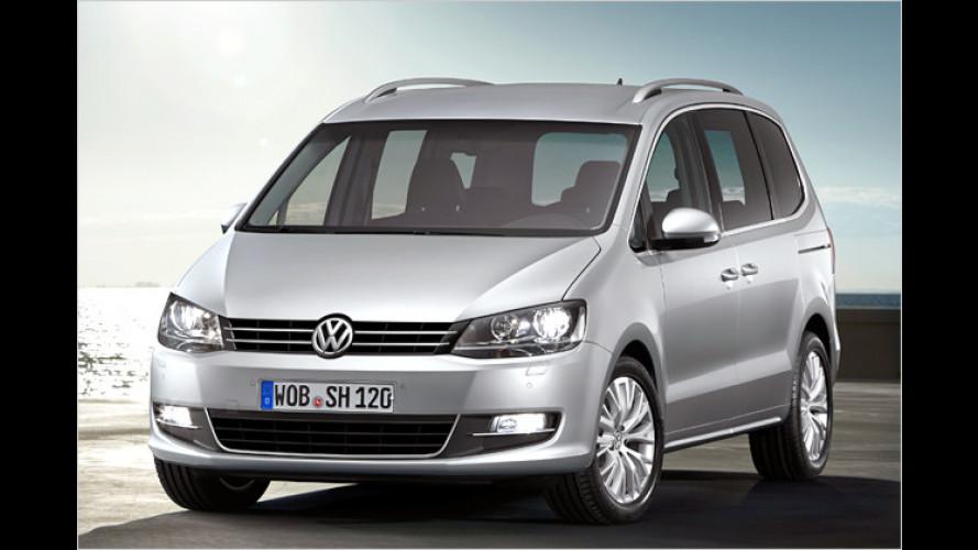 Preise von VW Phaeton und Sharan