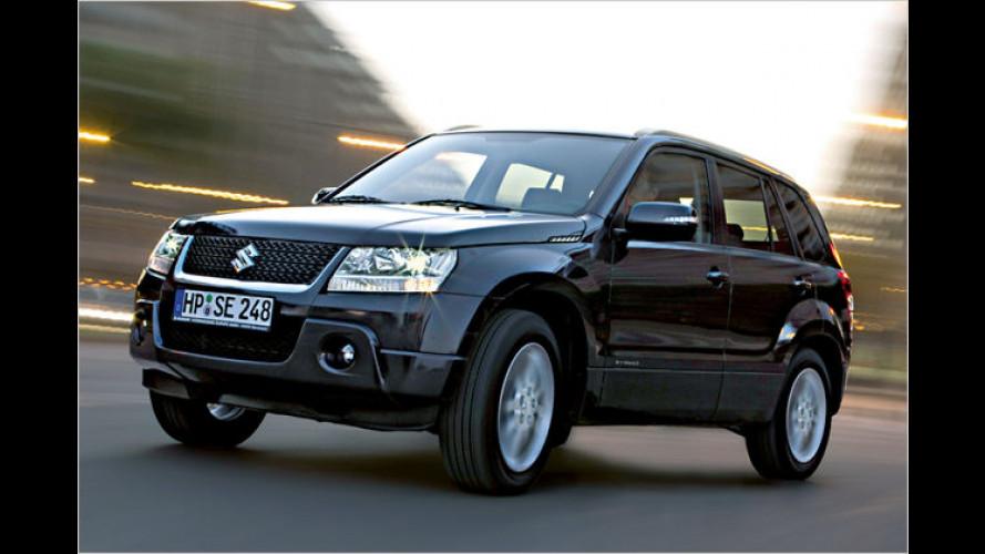 Suzuki legt Sondermodell Grand Vitara ,limited