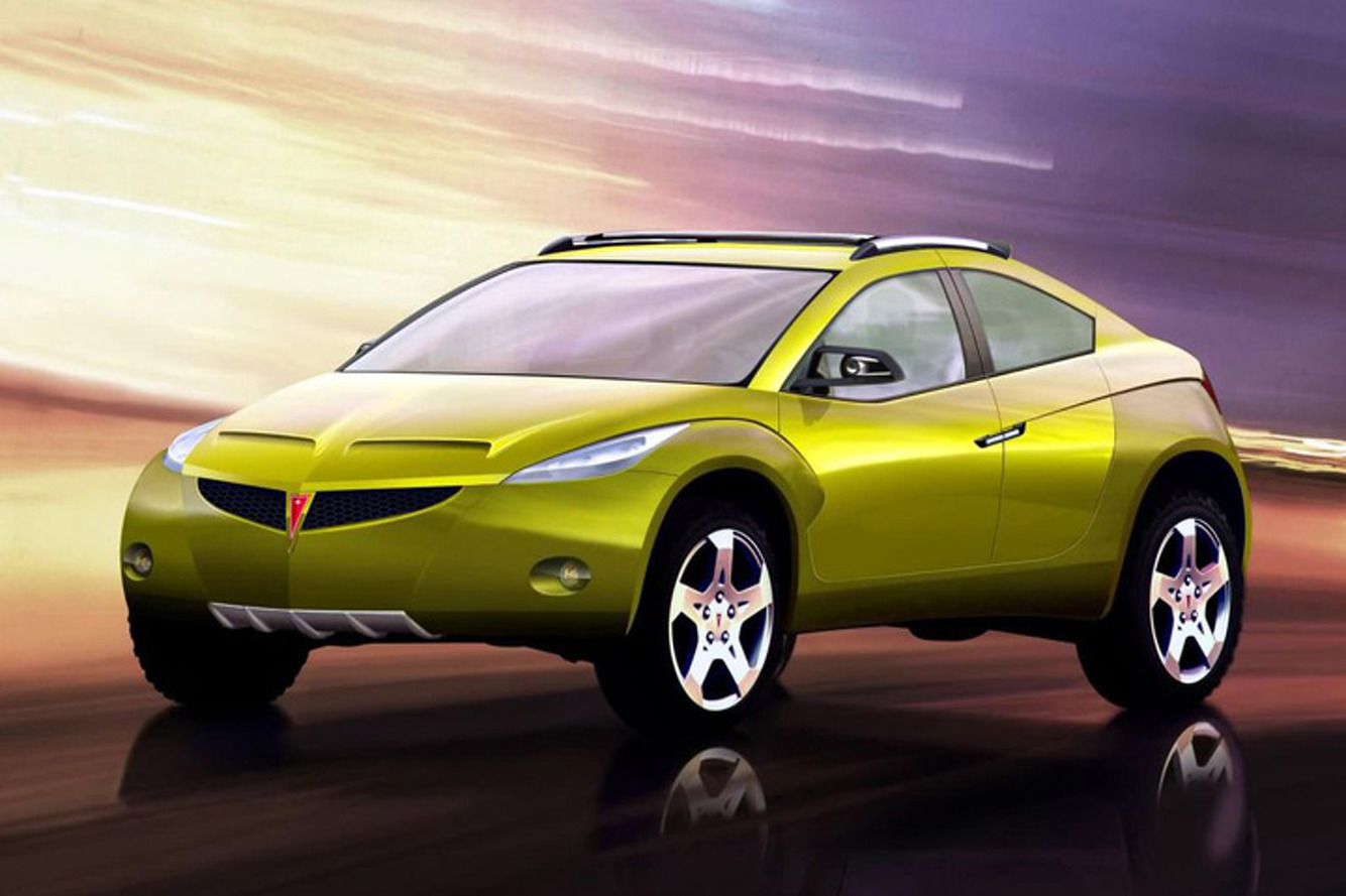 Weird Car of the Week: This Pontiac SUV Concept Was the Better Aztek