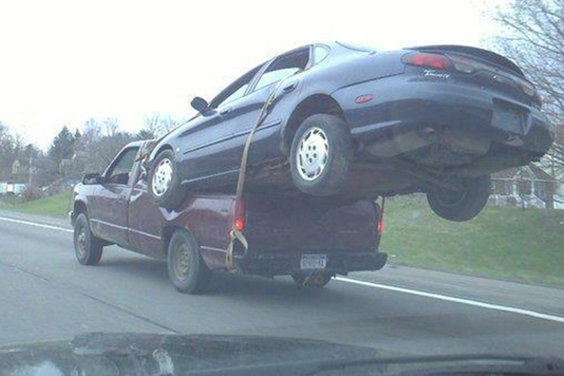 8 Examples of How Not To Tow a Vehicle