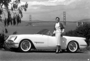 Sports Car Face Plant: 1953 Chevrolet Corvette