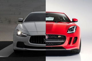 Jaguar and Maserati Feud on Twitter, But Consumers Slam Both