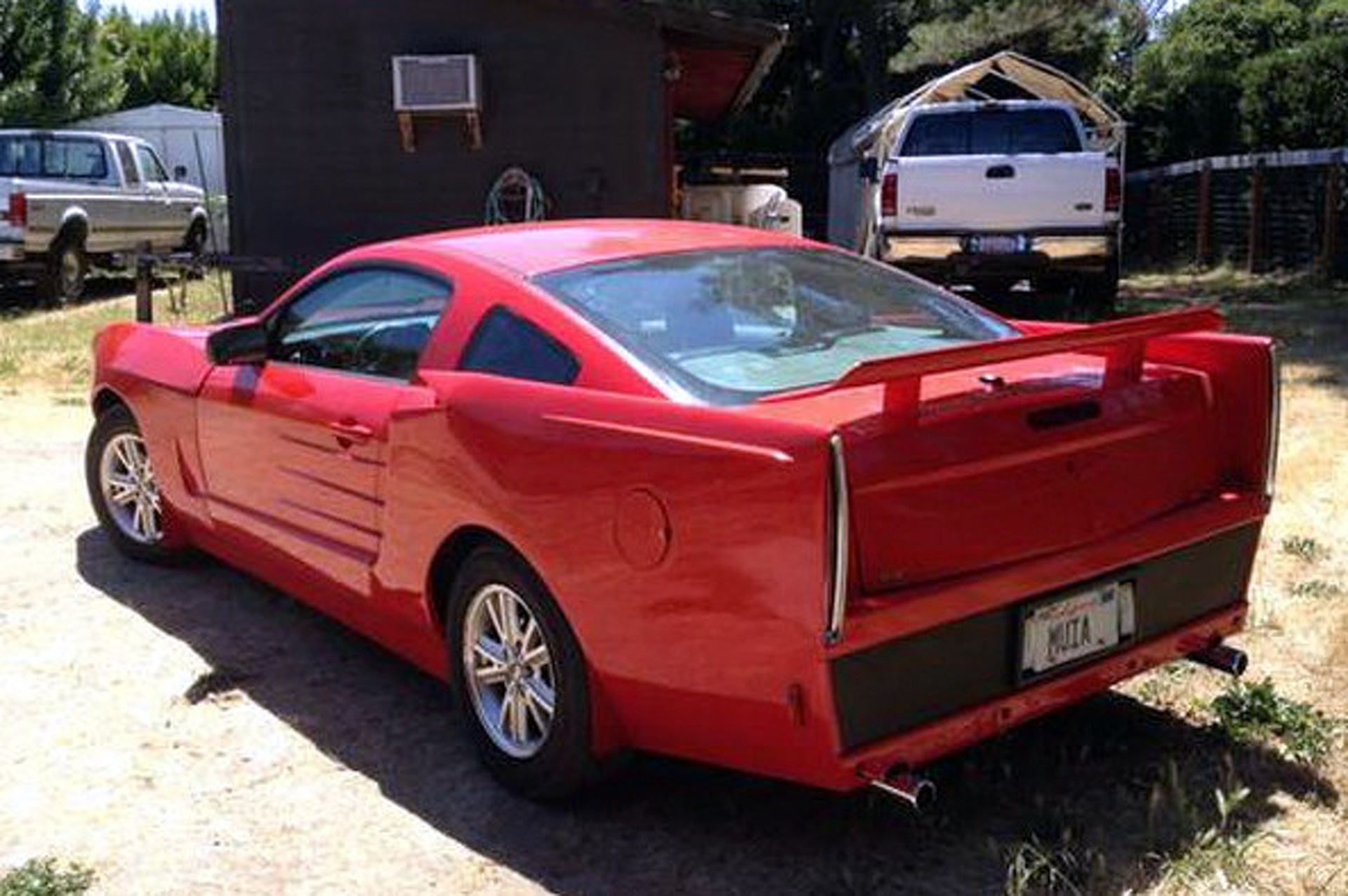 Eyesore Custom Mustang Should Go in Every Naughty Gearhead's Garage