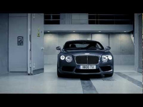 The New 2013 Bentley Continental GT V8 - Driving Footage