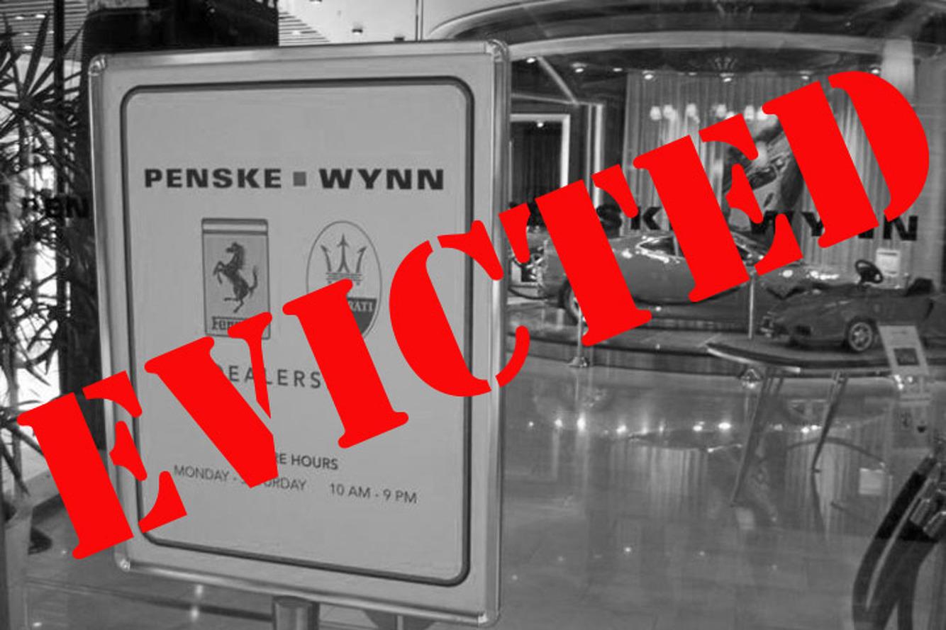 Wynn Gives Ferrari Dealership the Boot