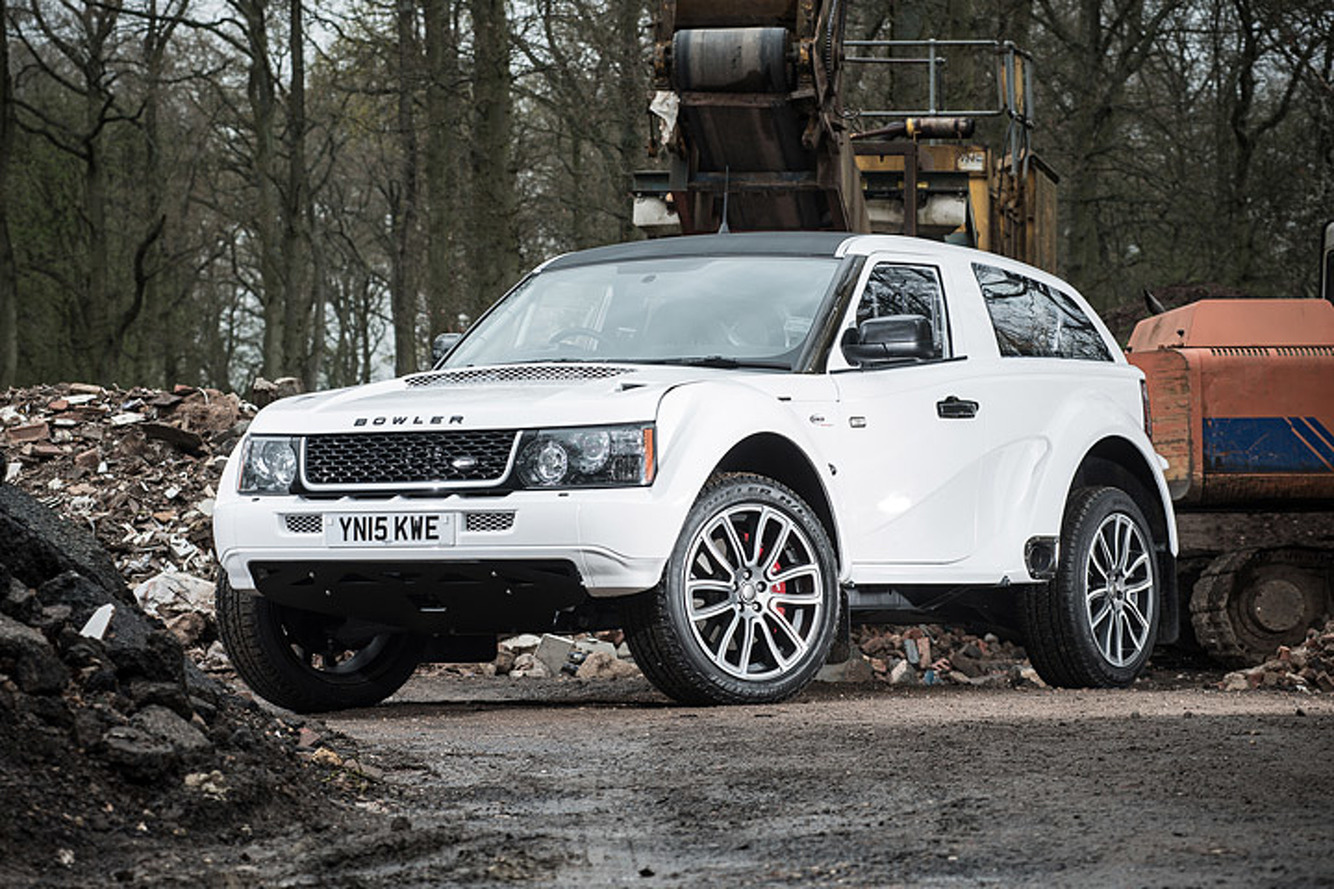 The Bowler EXR-S is a Supercar Disguised as a Range Rover