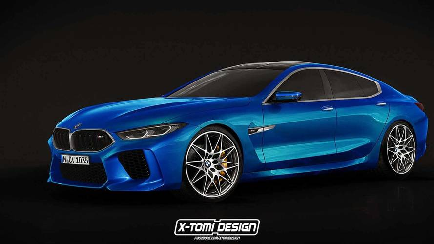 Bmw Concept M8 Gran Coupe Realistically Rendered For