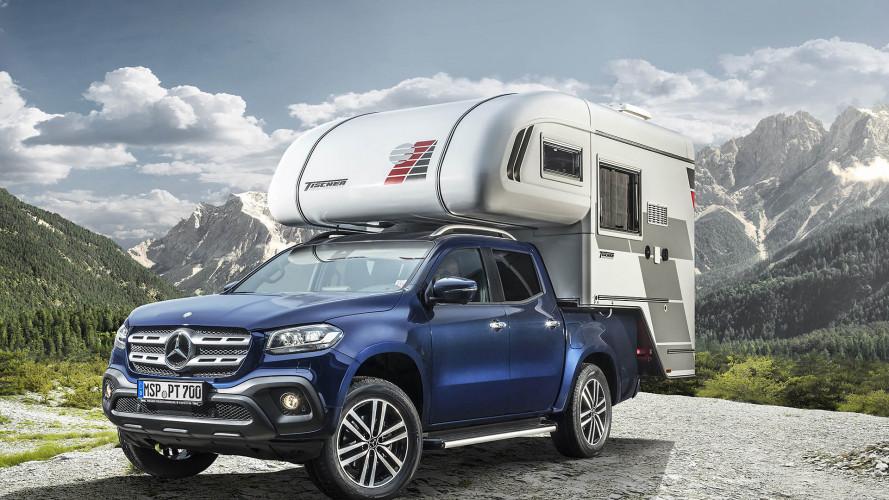 Die Mercedes X-Klasse fürs Camping