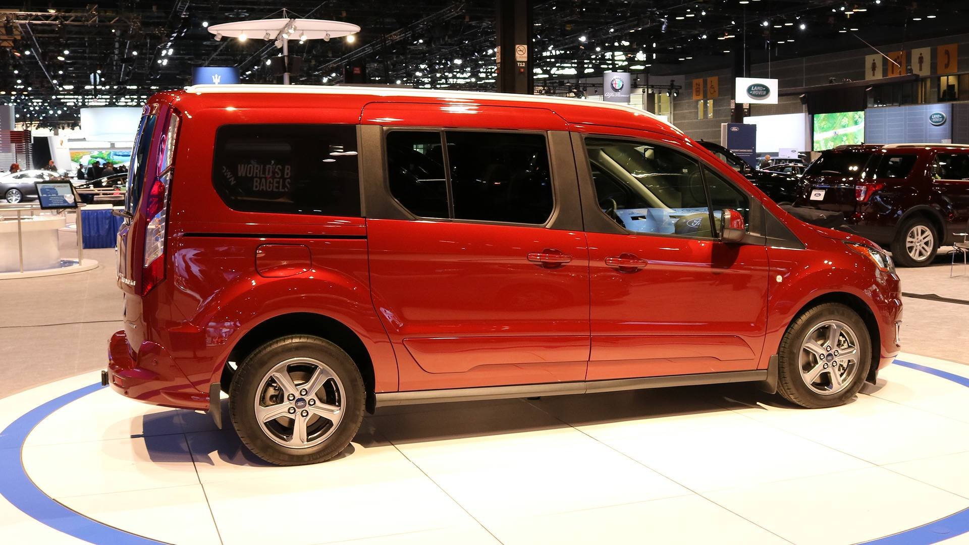 the driving ford connect review motor unminivan wagon transit