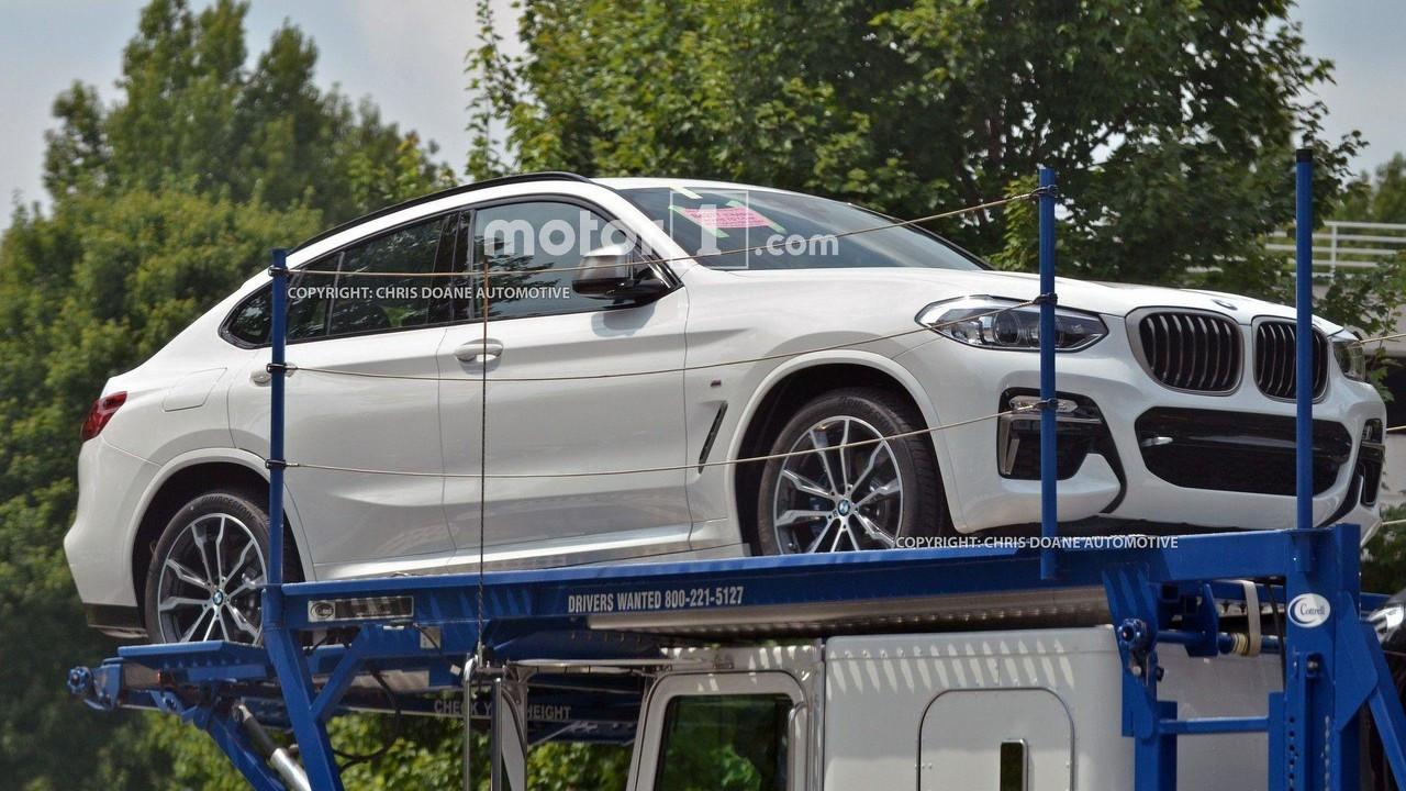 Nuova BMW X4, le foto spia
