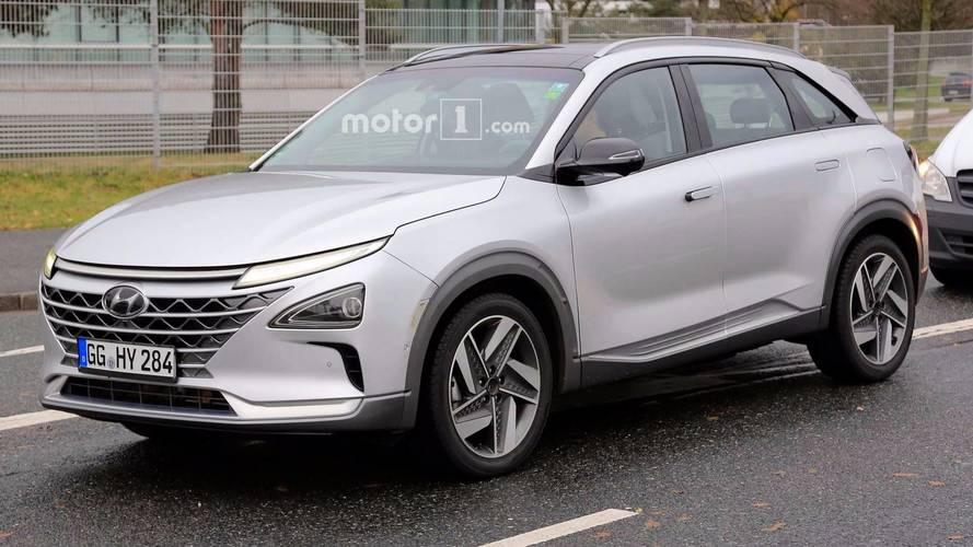 Hyundai'in ikinci nesil FCEV araçları Almanya'da yakalandı