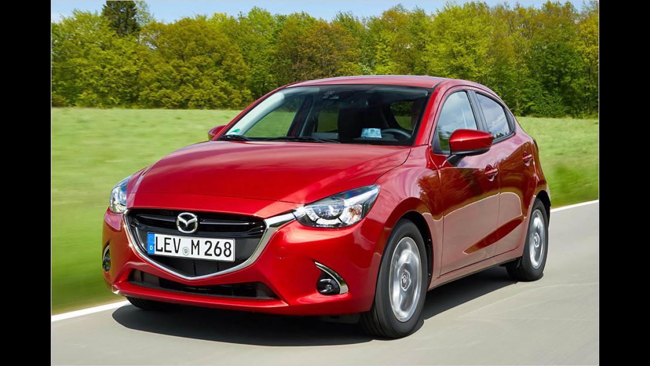 Der beste Kleinwagen: Mazda 2