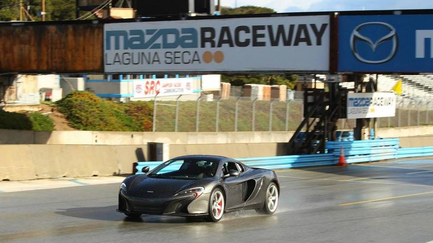 McLaren 650S visits the Laguna Seca circuit