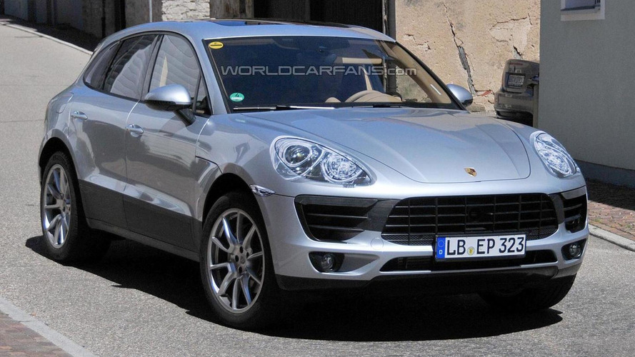 2014 Porsche Macan spied again with minimal disguise