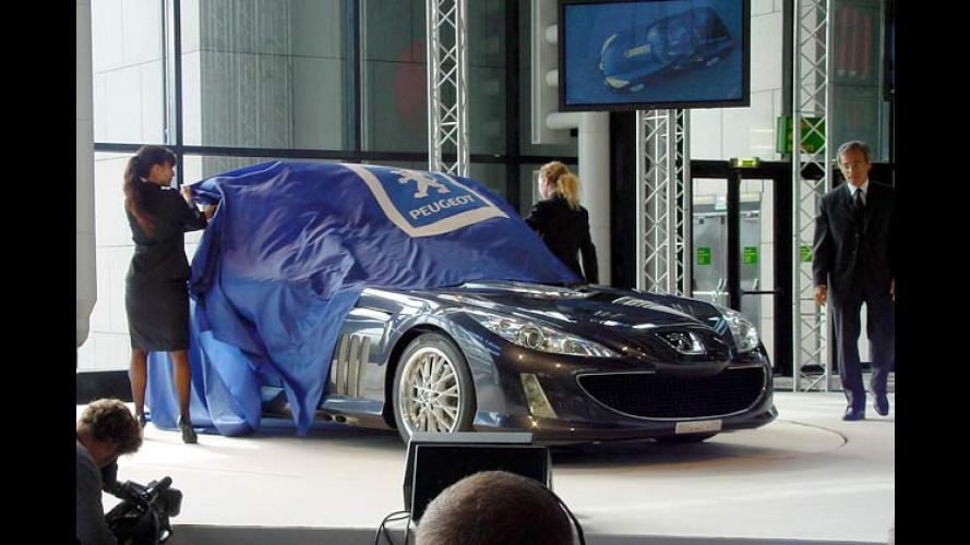 Peugeot prescht vor: V12-Coupé mit tiefen Einblicken