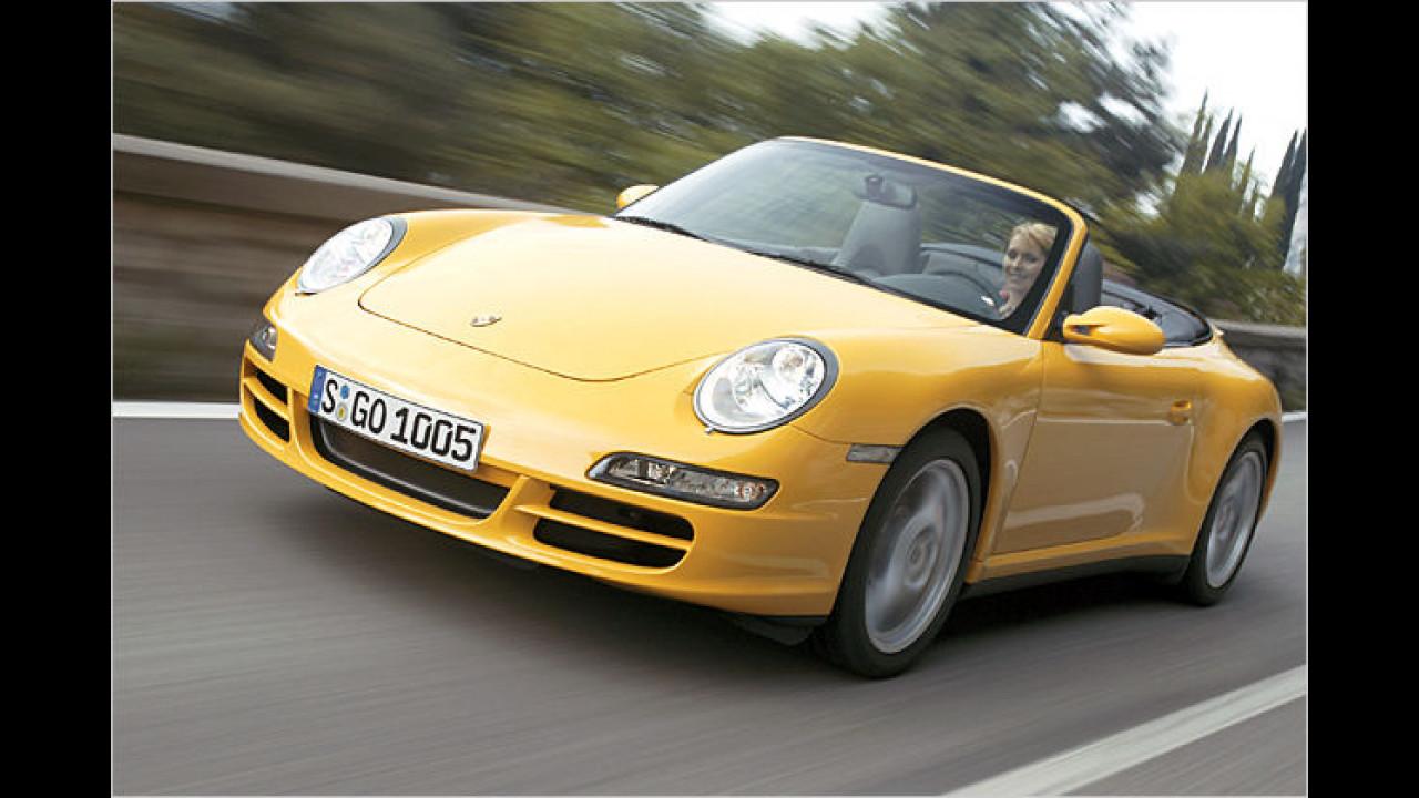 Porsche 911 Carrera 4 Cabriolet Tiptronic