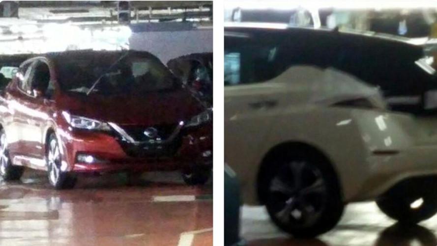 2018 Nissan Leaf fabrikada görüntülendi