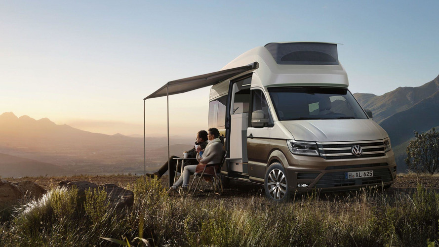 VW California XXL Concept Is The Ultimate Crafter Motorhome