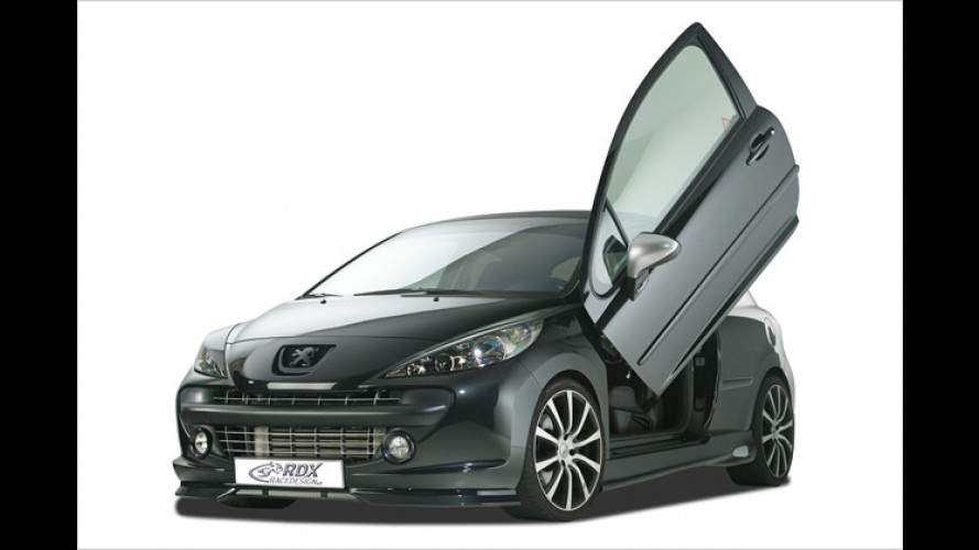 RDX Racedesign: Neuer Sportdress für den Peugeot 207