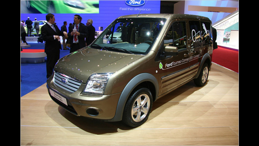 Spannung angelegt: Ford Tourneo Connect BEV in Genf