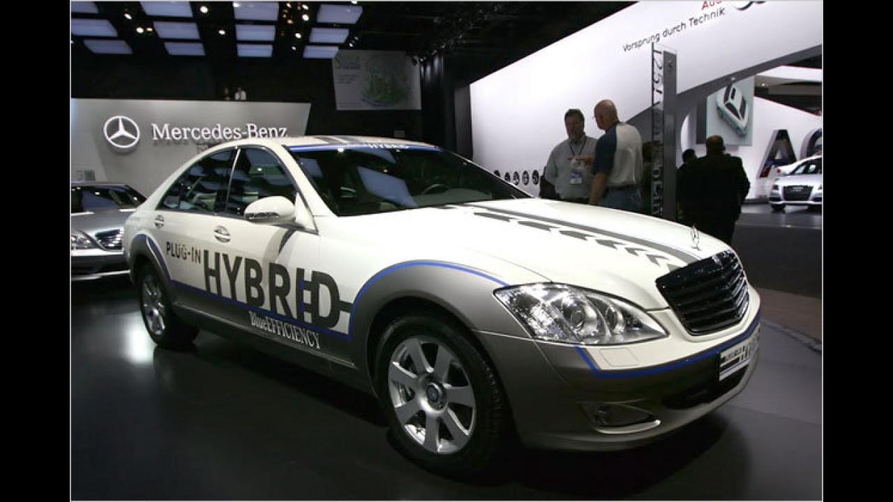 Mercedes Vision S 500 Plug-in Hybrid