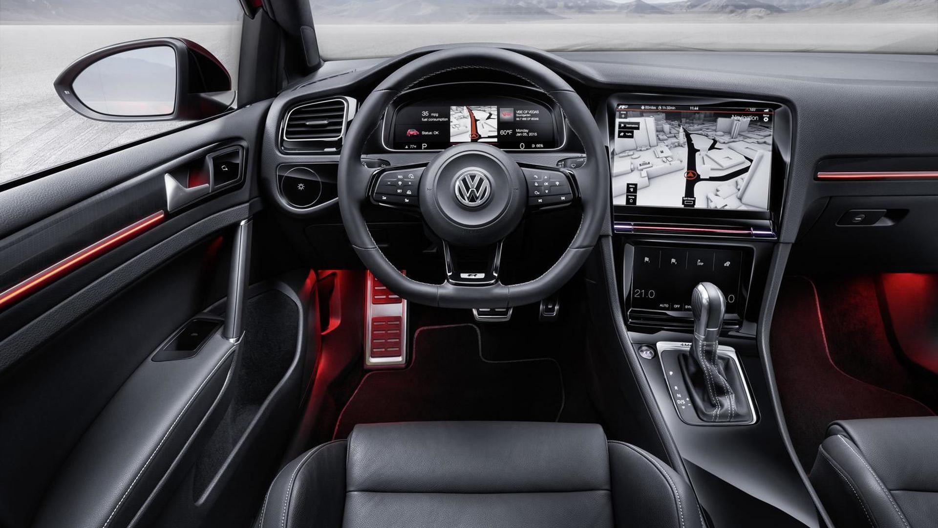 Сенсорные экраны Volkswagen Golf R Touch