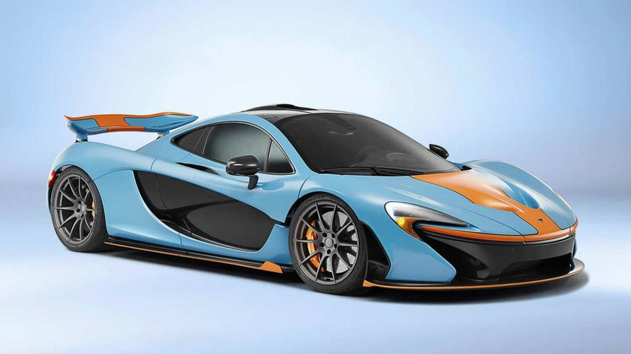 Nearly 90 percent of McLaren P1 buyers customized their car