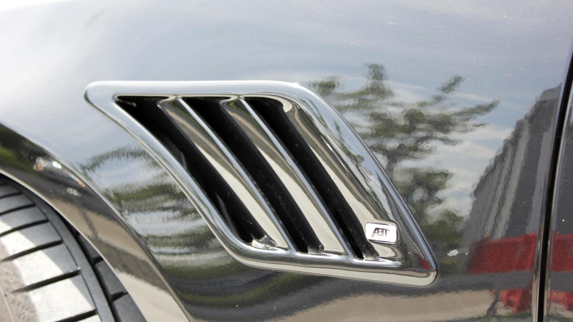 Воздухозаборник на крыле Audi A5 Sportback