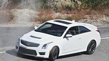 2016 Cadillac ATS-V Coupe spy photo