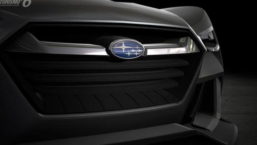 Subaru Viziv GT Vision Gran Turismo teased [video]