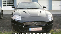 SPY PHOTOS: Jaguar XKR with new front fascia