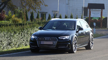 Next Audi RS4 Avant spied again up close with S4 body