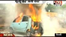 VÍDEO: Mais um Tata Nano pega fogo na Índia