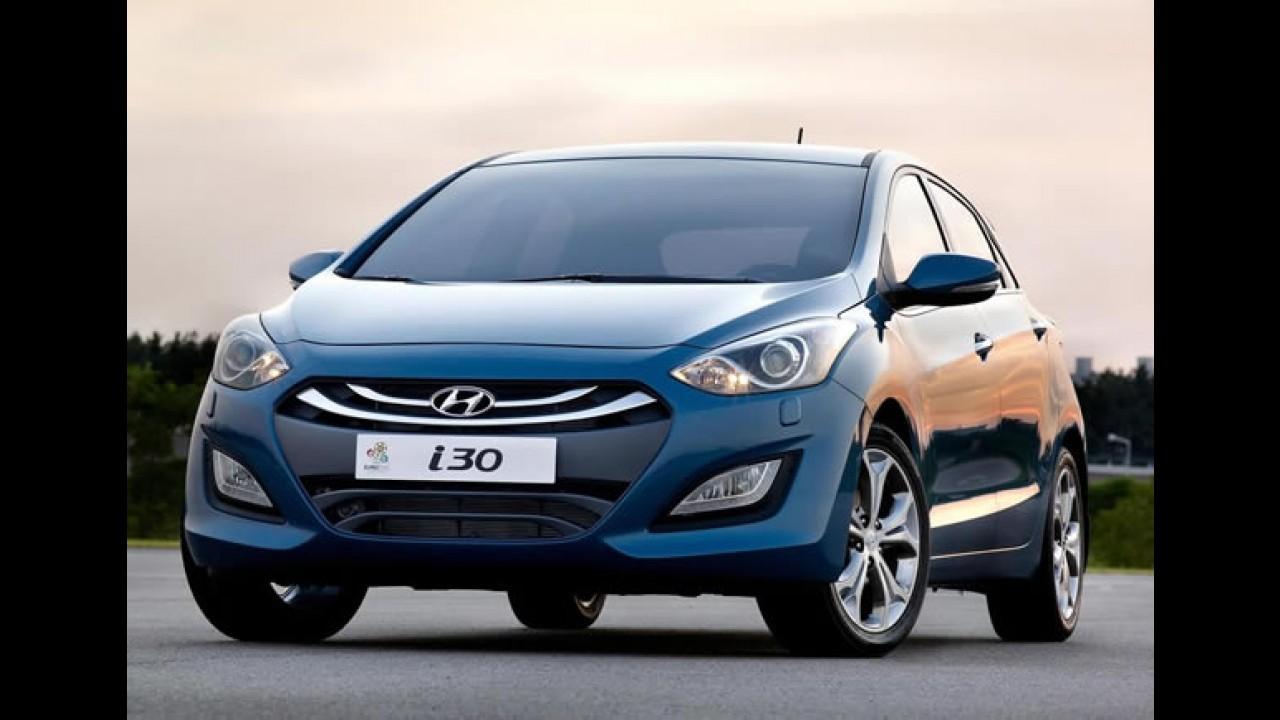 Novo Hyundai i30 começa a ser vendido na Europa pelo equivalente a R$ 36.000