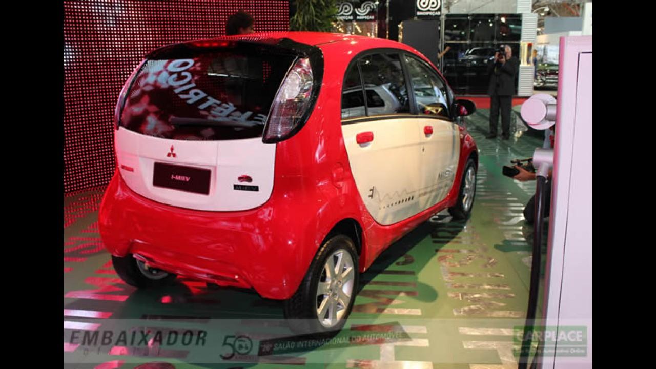 Salão do Automóvel: Mitsubishi apresenta o compacto elétrico i-MiEV