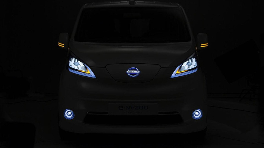 Nissan e-NV200 Panel Van concept teased for the Hanover Motor Show