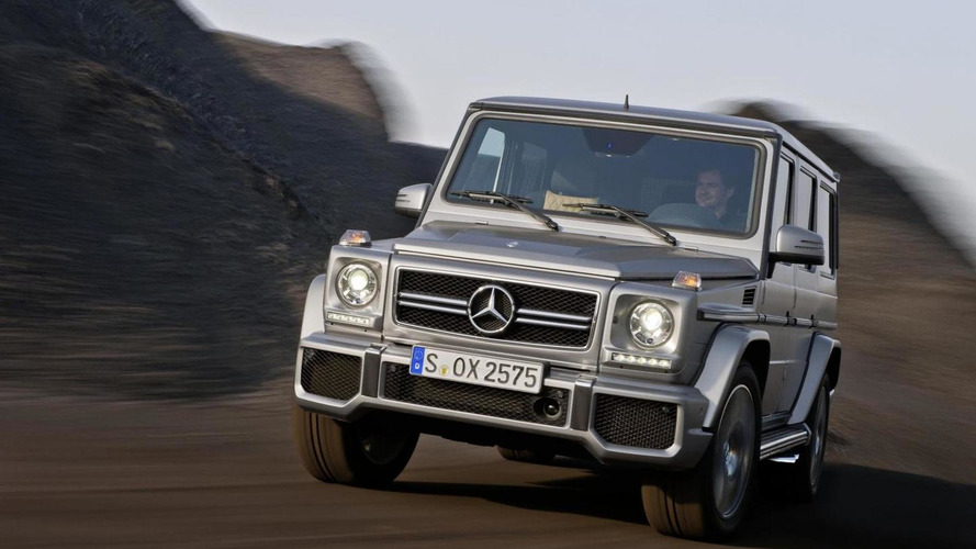 2016 Mercedes G-Class to lose up to 825 lbs - report