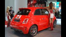 Abarth 695 Tributo Ferrari al Salone di Francoforte 2009