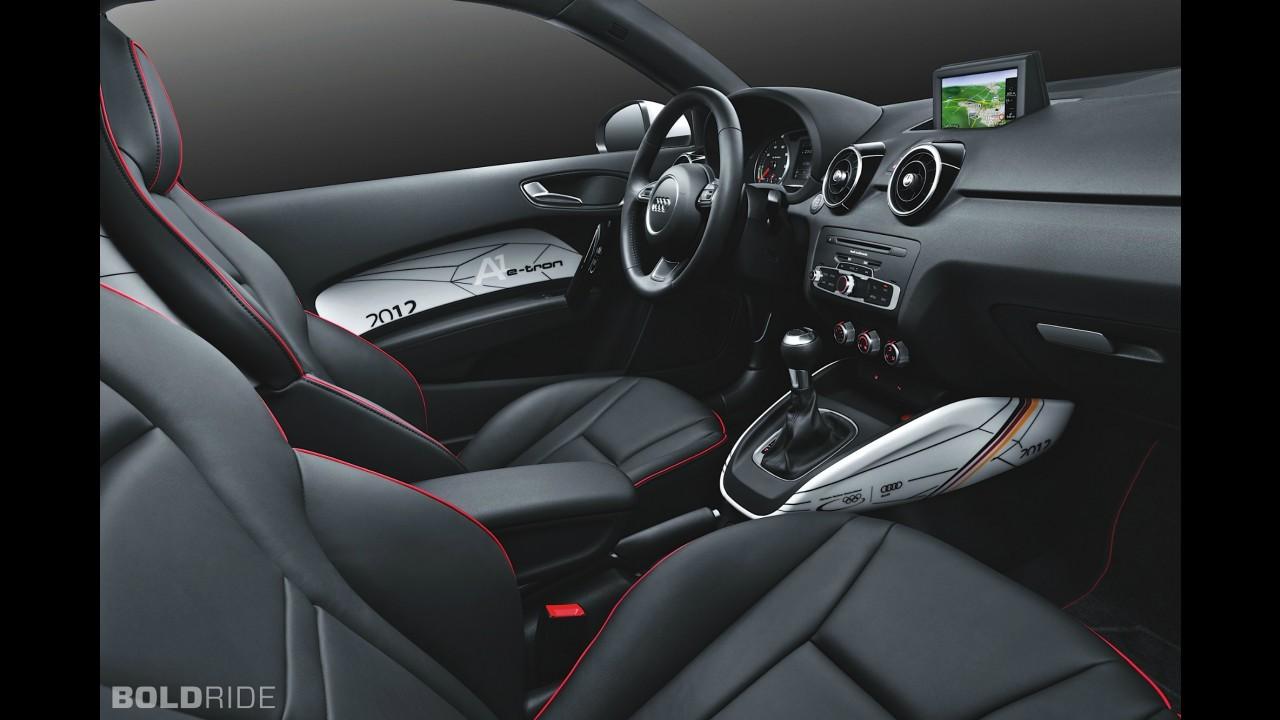 Audi A1 e-tron German Olympic Edition