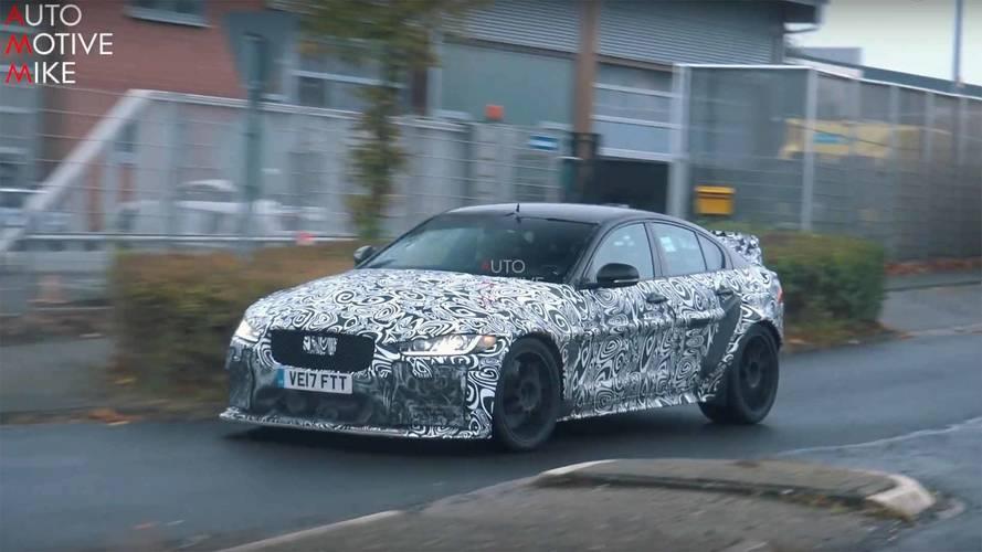 Jaguar XE SV Project 8, Nürburgring testlerine devam ediyor